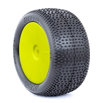1:10 BUGGY EVO IMPACT REAR (SUPER SOFT) EVO WHEEL PRE-MOUNTED YELLOW