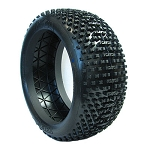 (FACTORY SECOND)(BULK) 1:8 BUGGY I-BEAM MEDIUM (TIRES ONLY) (ONE PAIR)