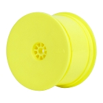 1:10 BUGGY HEXLITE 2WD/4WD REAR WHEELS (YELLOW)