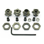 SC10 1:8 WHEEL ADAPTERS (COMPLETE KIT)