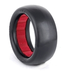 1:10 BUGGY EVO SLICKS 4WD FRONT (ULTRA SOFT) W/ RED INSERT