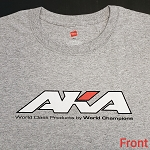 AKA SHORT SLEEVE SPORT GREY SHIRT (XL)