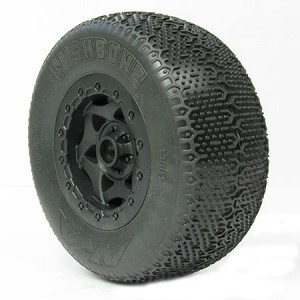 1:10 WISHBONE SC SUPER SOFT PRE-MNT SC-10 FRONT (WHEEL BEARINGS)