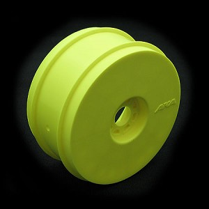 (BULK) 1:8 BUGGY WHEELS YELLOW (4 PCS.)