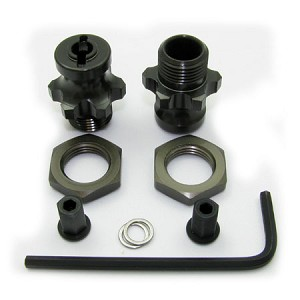 SLASH 1:8 WHEEL ADAPTERS (REAR ONLY KIT)