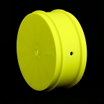 1:10 BUGGY EVO 4WD FRONT WHEELS (YELLOW) (AE) (10MM Hex)