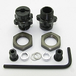 SLASH 1:8 WHEEL ADAPTERS (FRONT ONLY KIT)