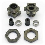 SC10 1:8 WHEEL ADAPTERS (FRONT ONLY KIT)