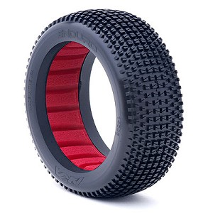 1:8 BUGGY ENDURO SOFT WITH RED INSERTS (ONE PAIR)