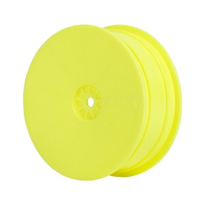 1:10 BUGGY HEXLITE 4WD FRONT WHEELS (YELLOW) (AE/KYO)