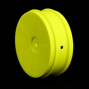 1:10 BUGGY EVO 2WD FRONT WHEELS (YELLOW) (AE/KYO)