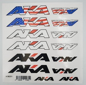 AKA LOGO DECAL SHEET 2021