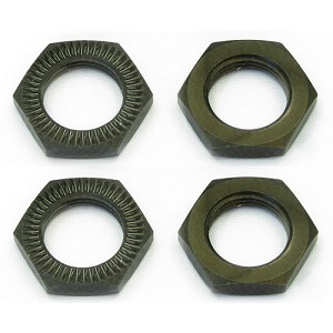 "1:8 17MM ""SUREGRIP"" ALUMINUM WHEEL NUTS (4 PCS)"