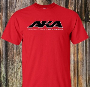 AKA SHORT SLEEVE RED SHIRT (M)